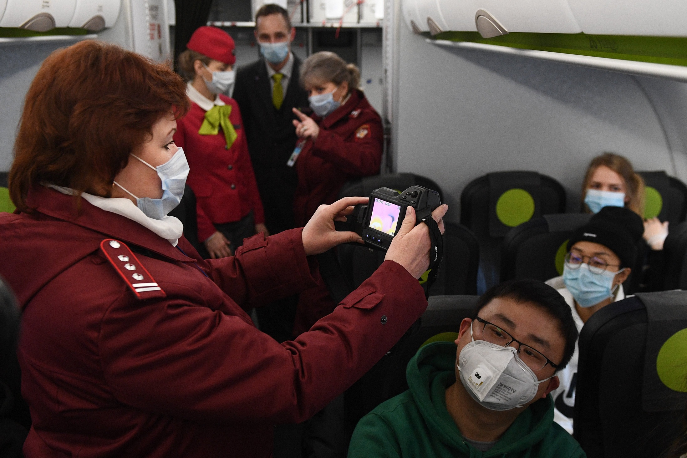 Pandemic in Siberia